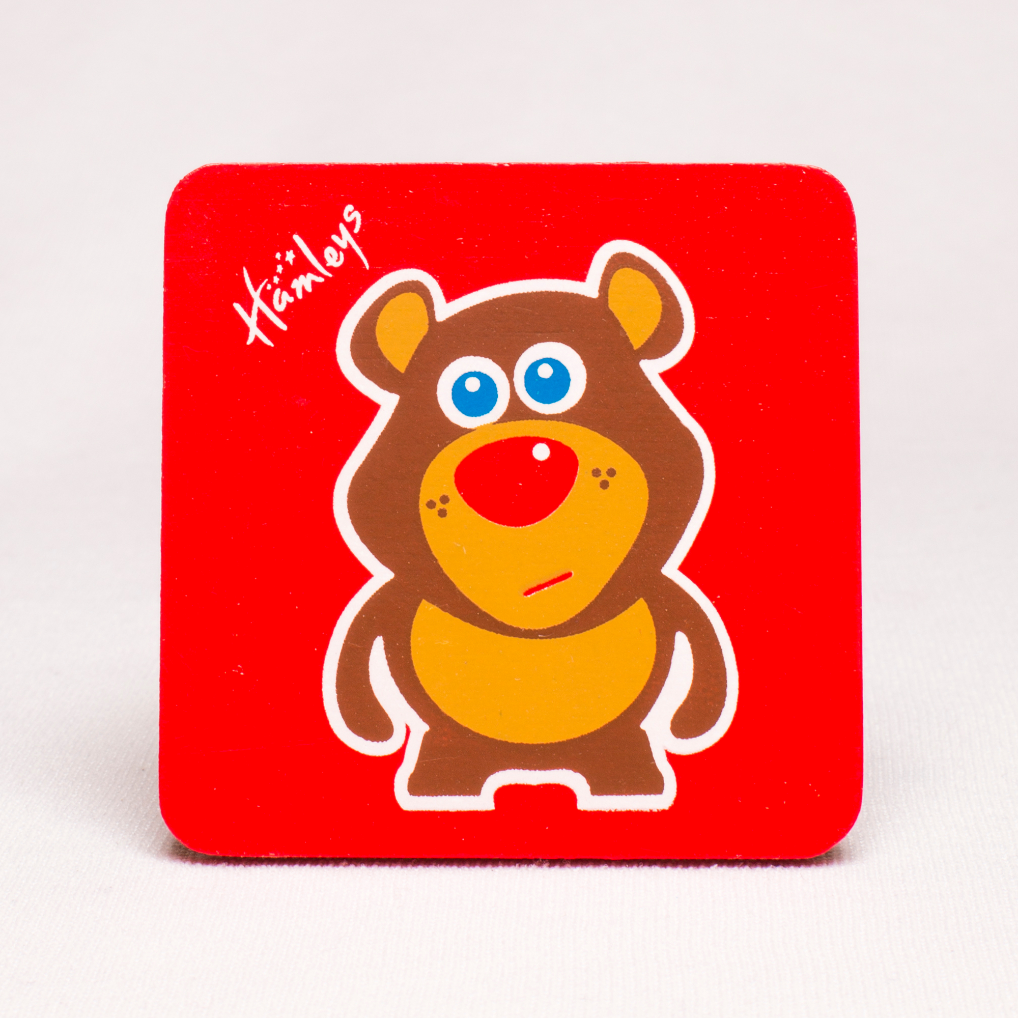 Hamleys Wooden Grizzley Bear Plaque