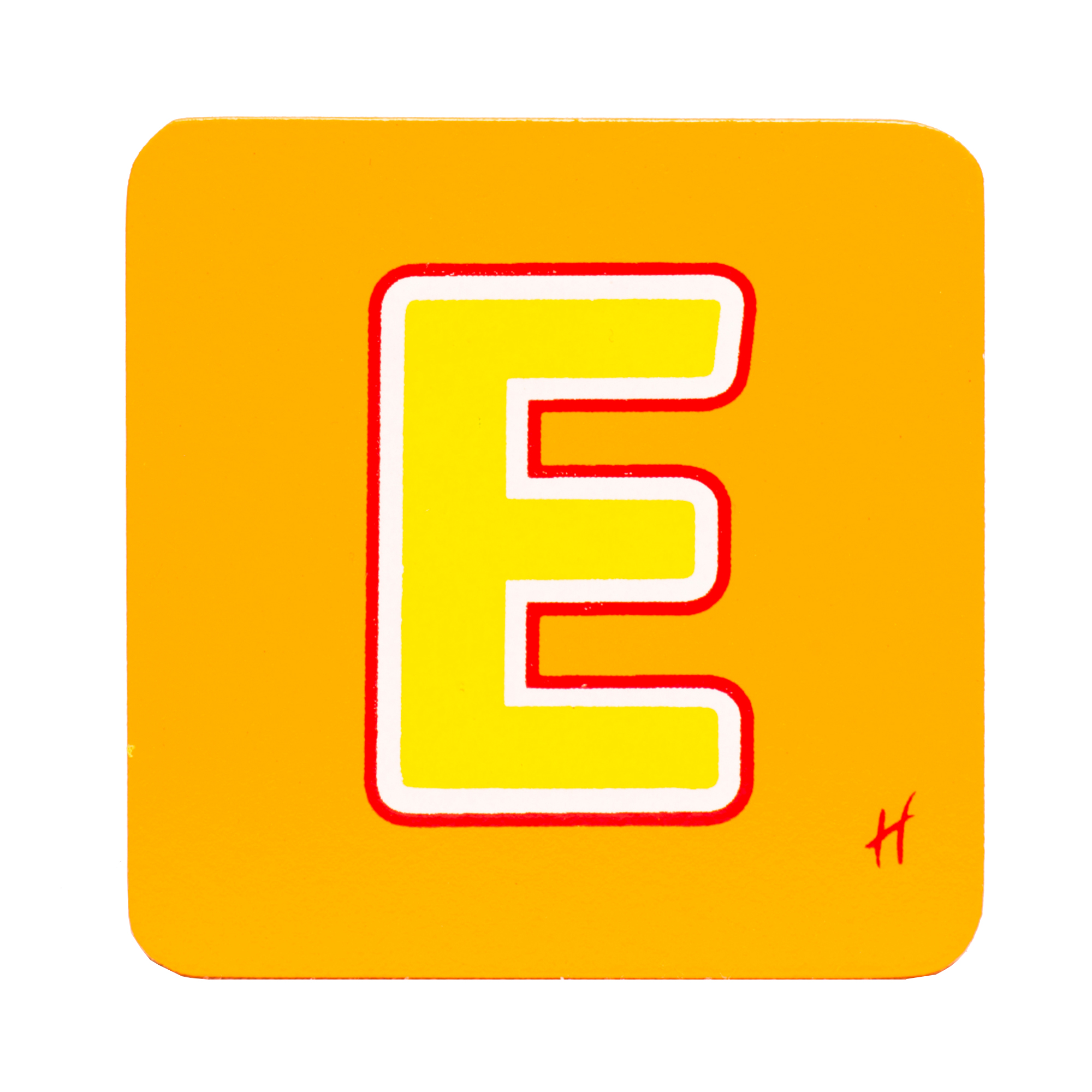 Hamleys Wooden Letter E