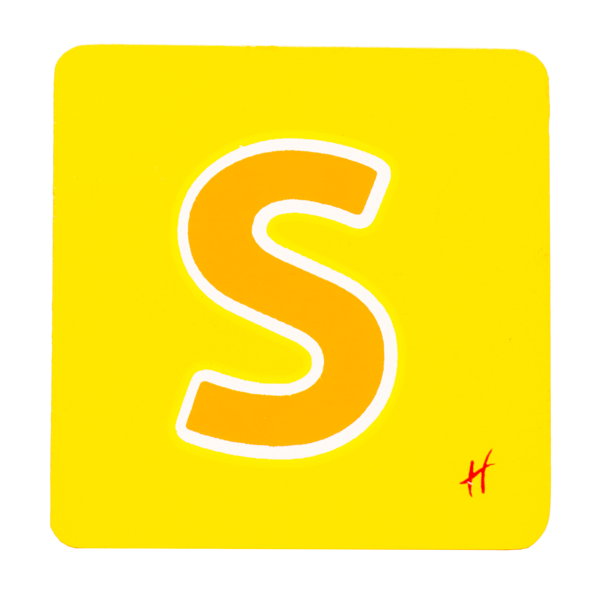 Hamleys Wooden Letter S