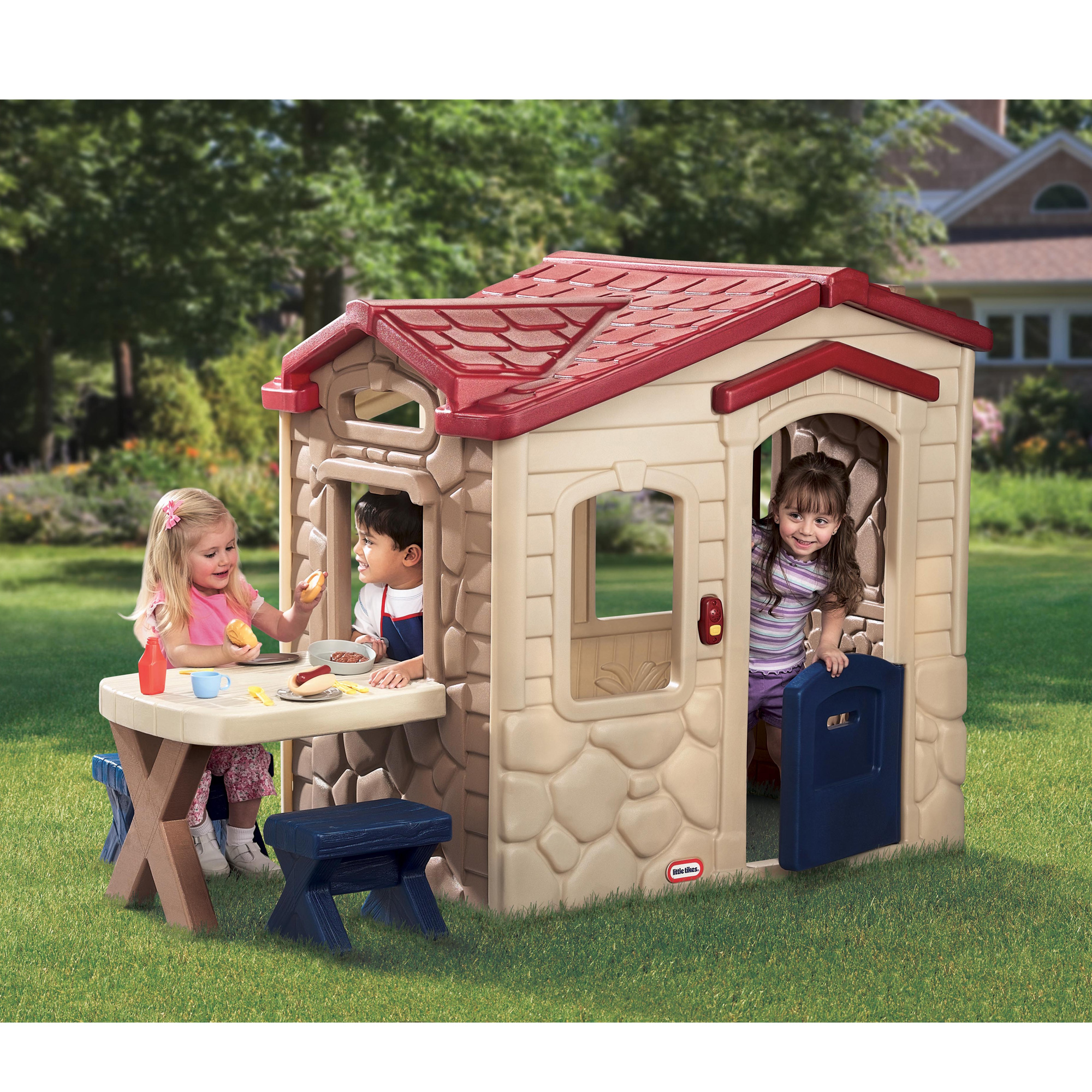 Little Tikes Picnic On The Patio Playhouse - Cream - Baby  Birthday Your Baby Gifts - Girls - 6-12 months