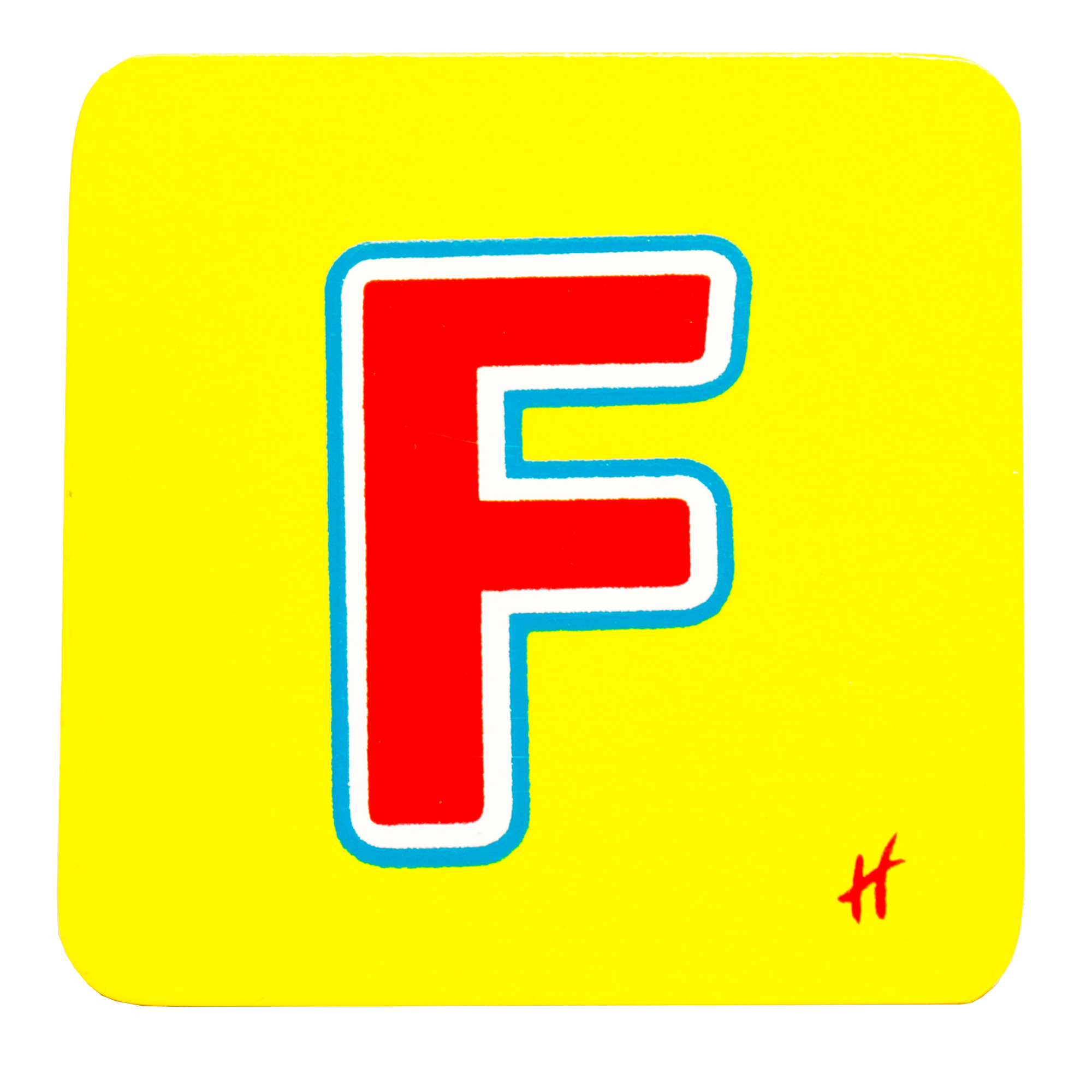 Hamleys Wooden Letter F