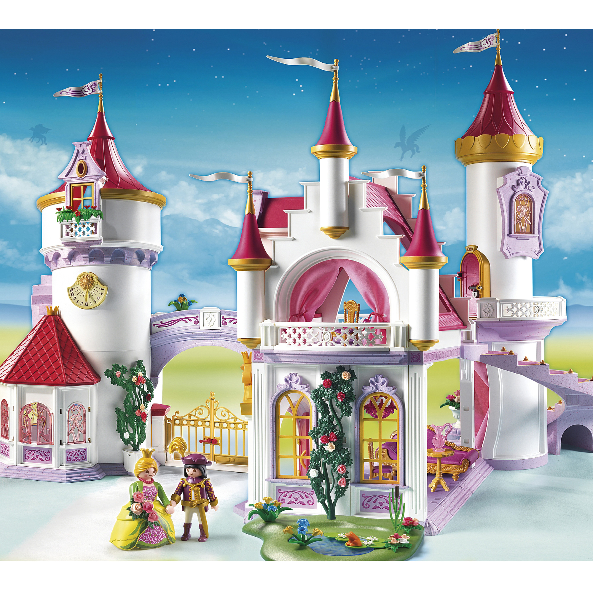 Playmobil princess fantasy castle 5142 from the playmobil for Playmobil princesse 5142