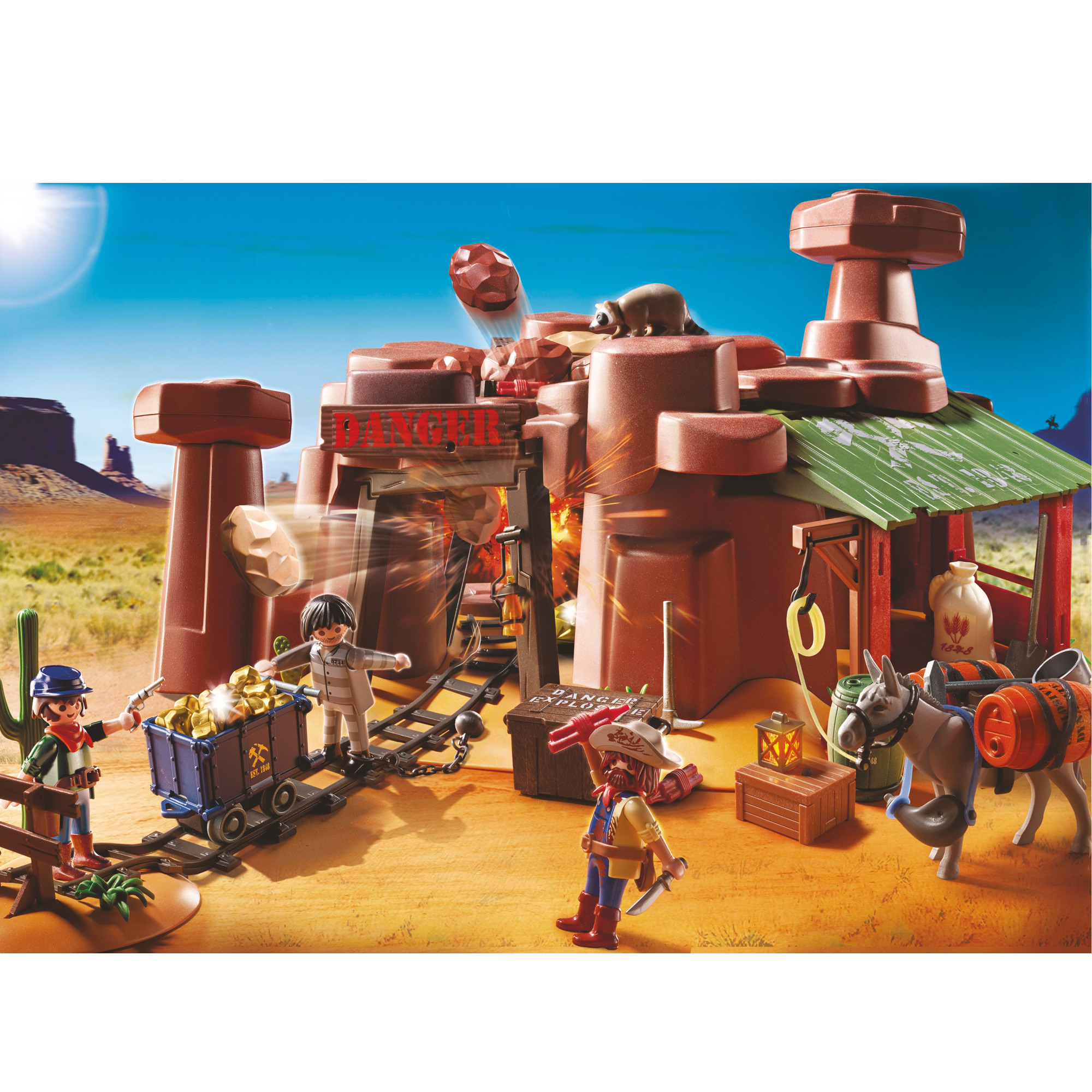 Mining Toys For Boys : Playmobil goldmine from the other range