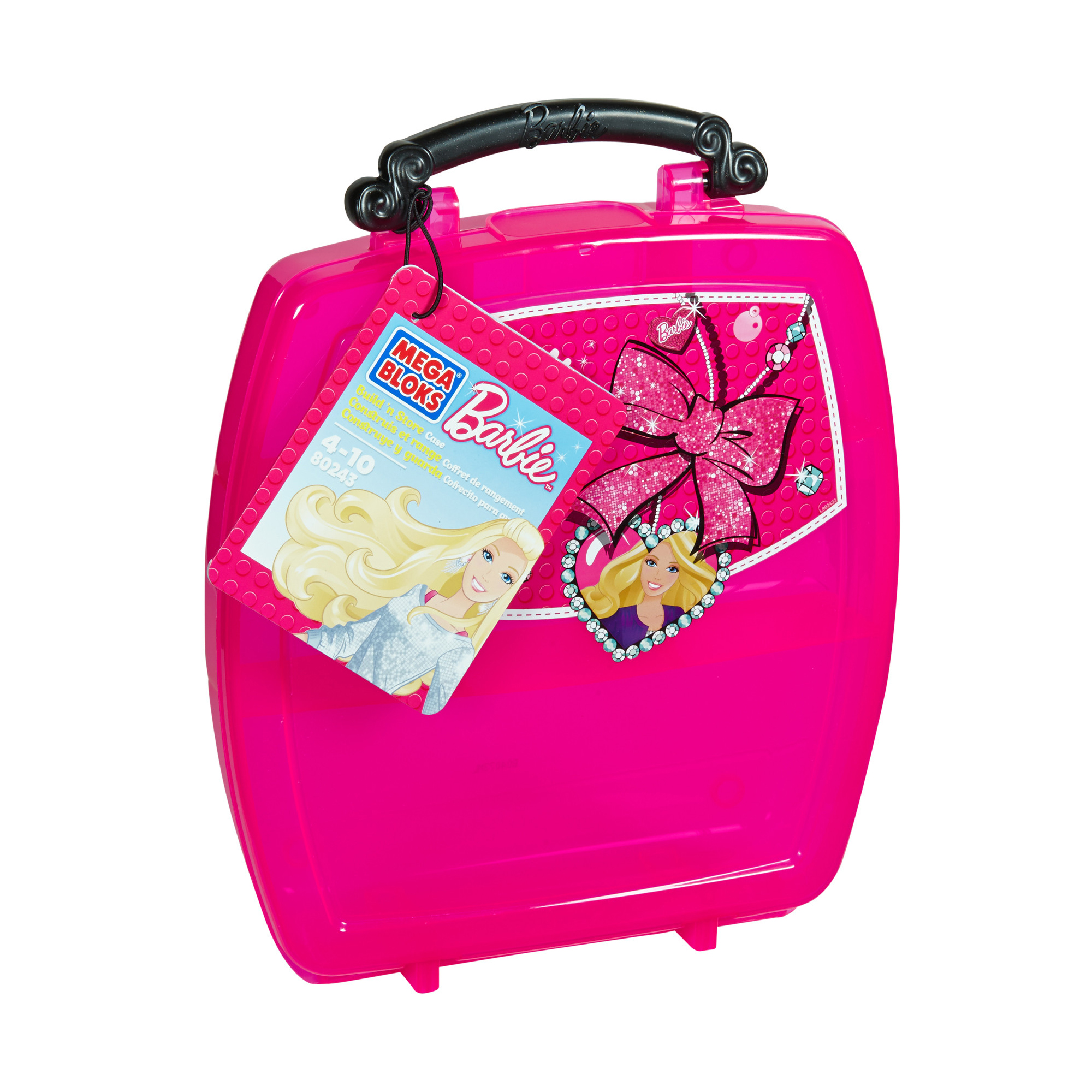 Mega Bloks Barbie Build N Store Case