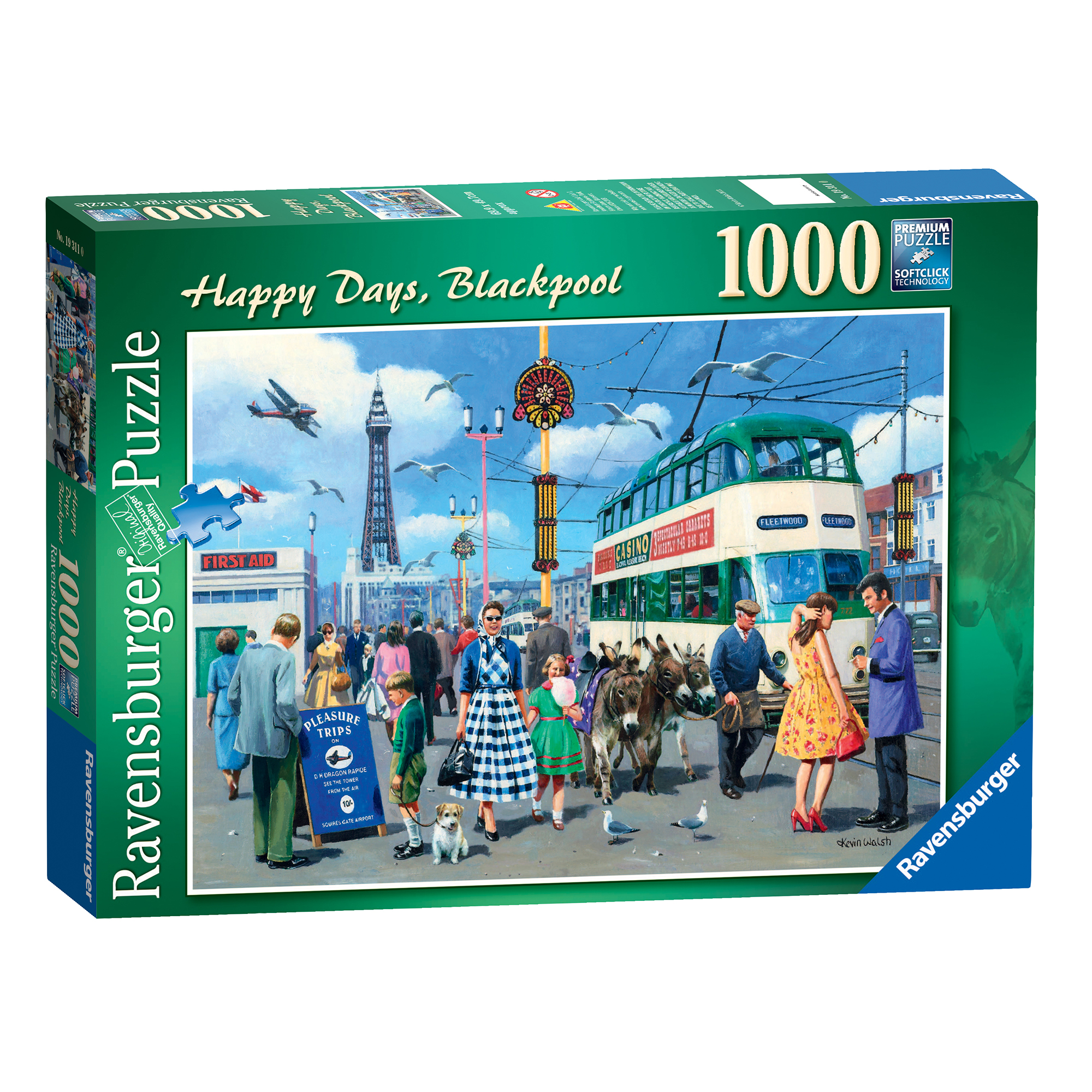 Ravensburger Happy Days Blackpool 1000 Piece Puzzle
