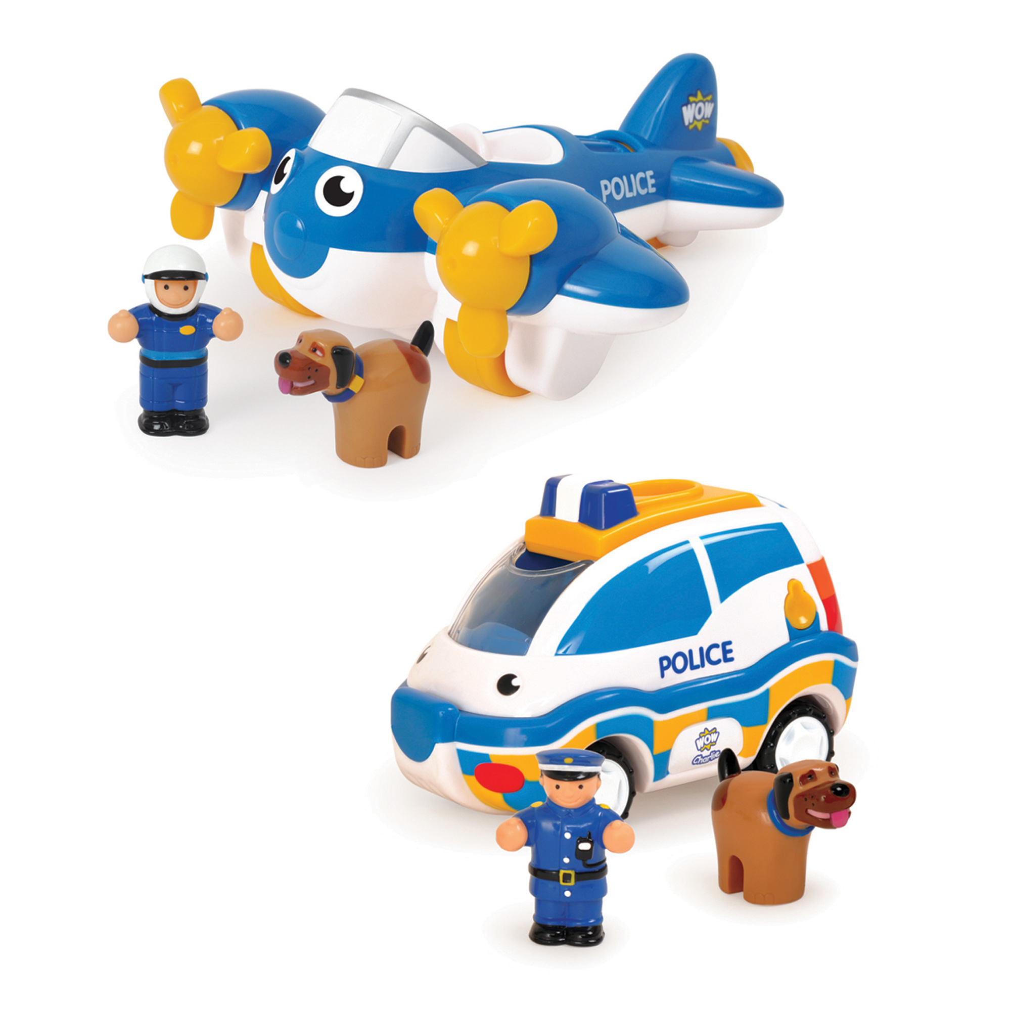 WOW Toys Police Patrol Pals