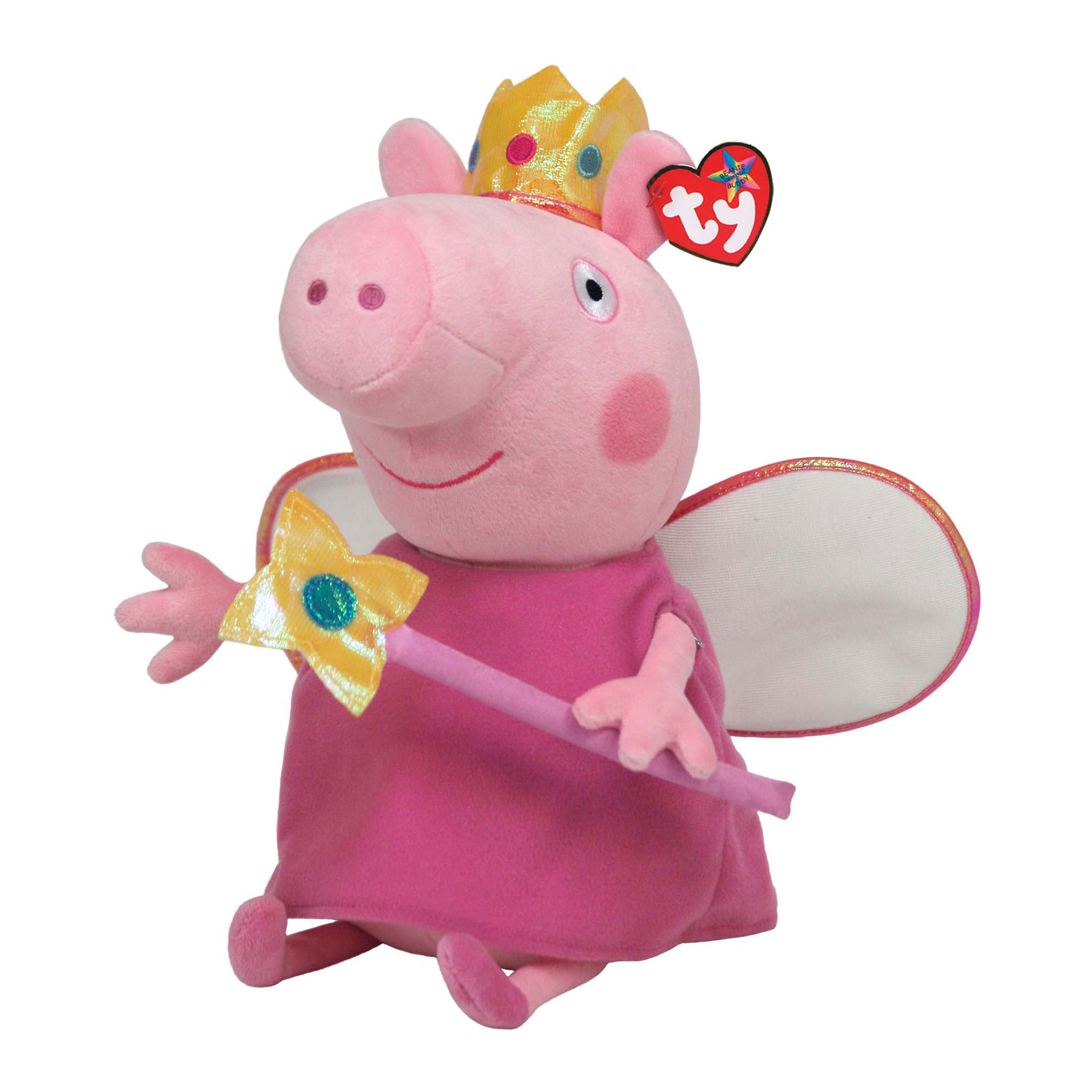 TY Peppa Princess Buddy