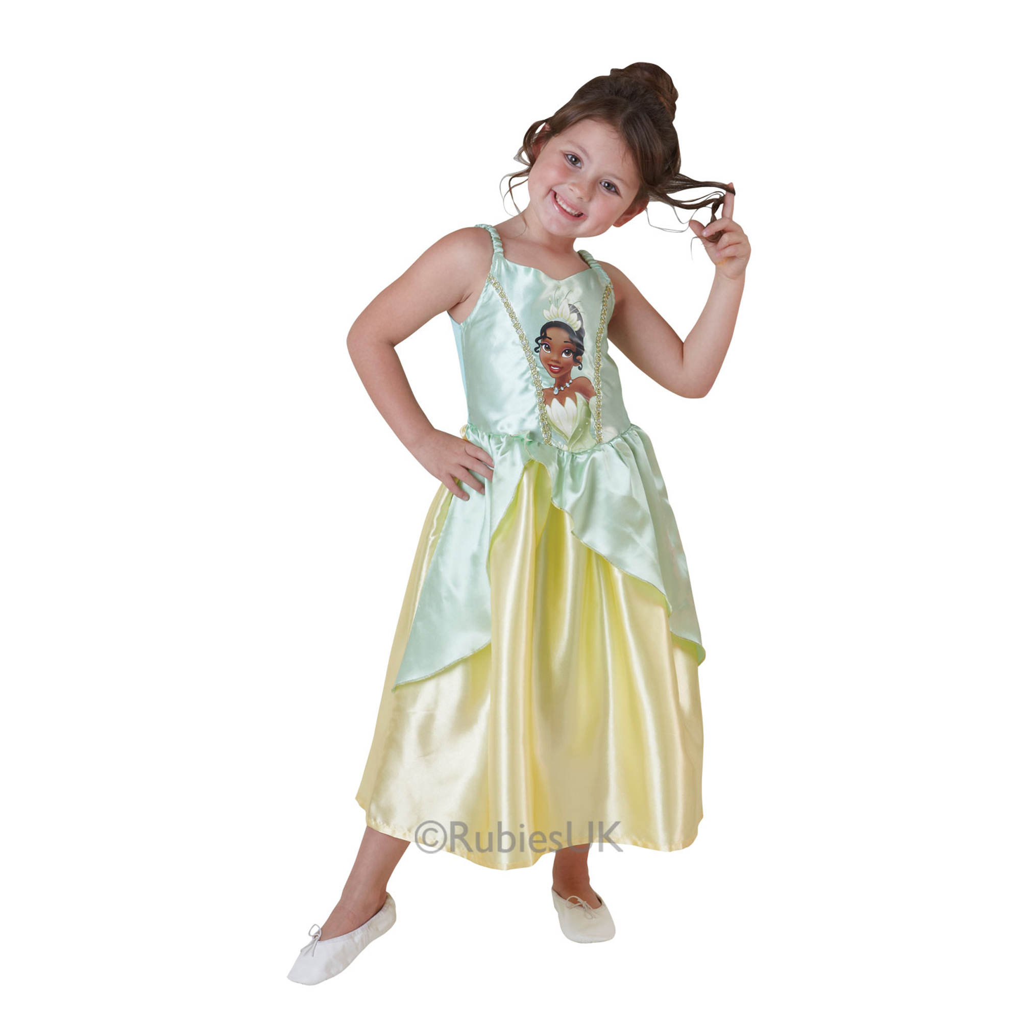 Story Time Tiana Costume Small