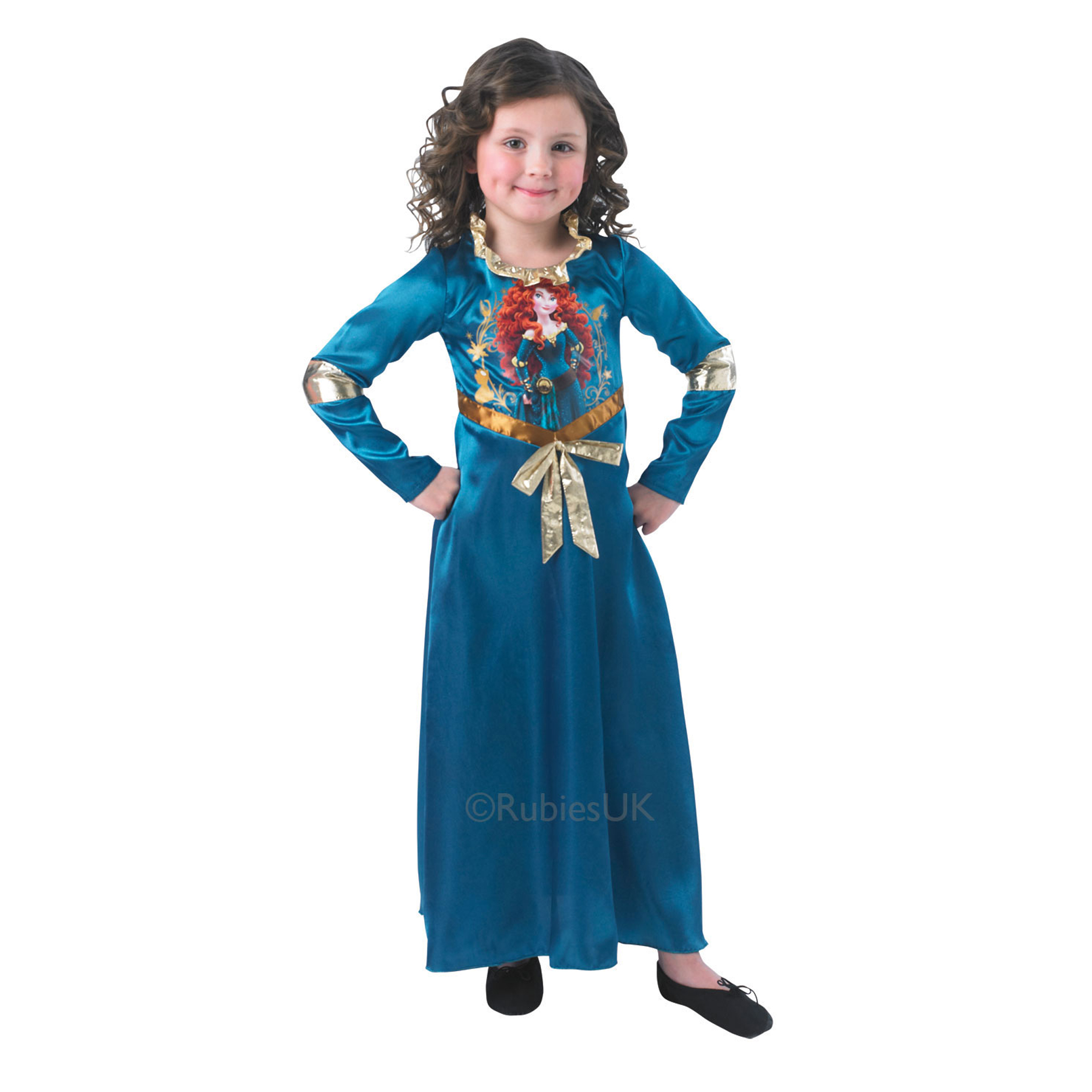 Story Time Merida Costume Small