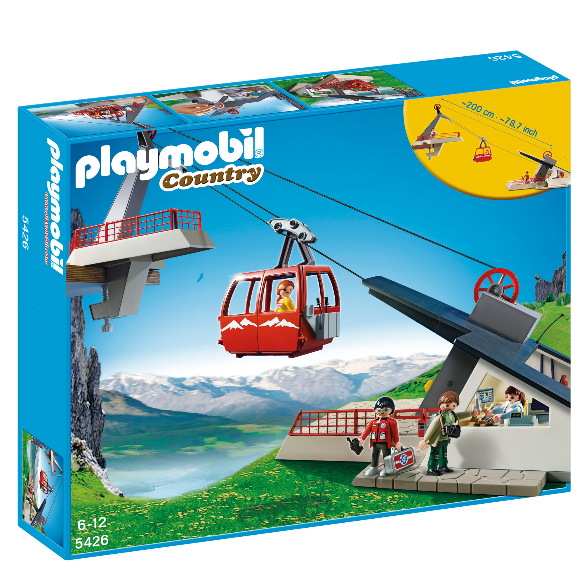 playmobil alpine cable car 5426 from the playmobil other. Black Bedroom Furniture Sets. Home Design Ideas