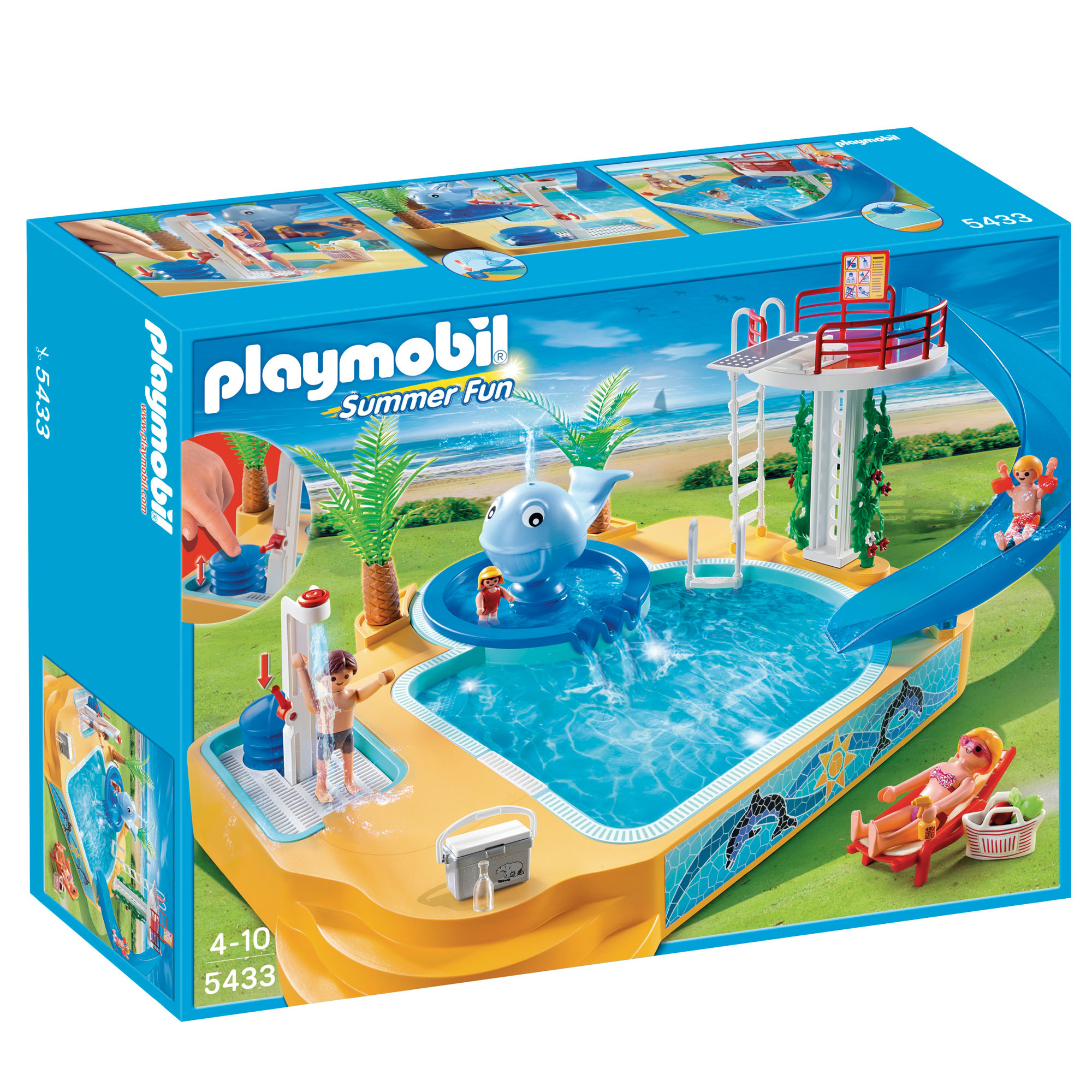 Playmobil Holiday Home 4857 From The Playmobil Vacation
