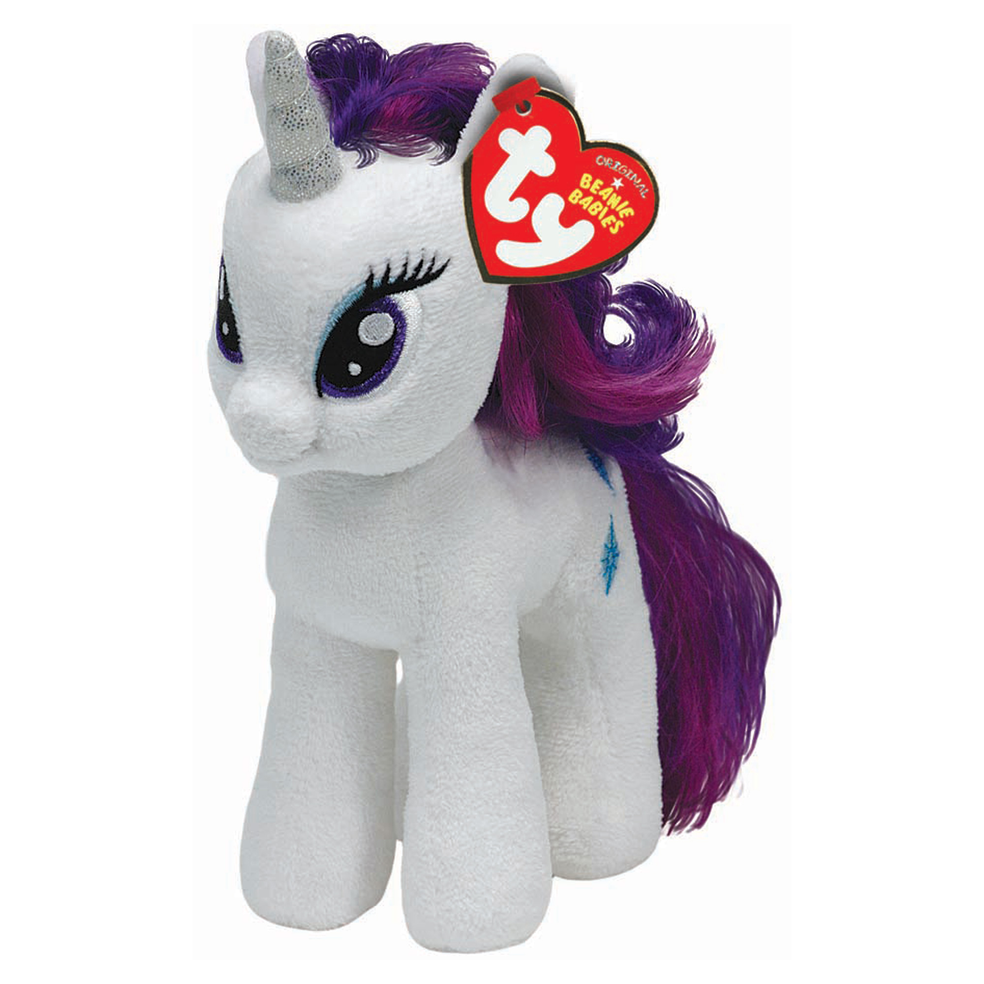 TY My Little Pony Rarity Beanie