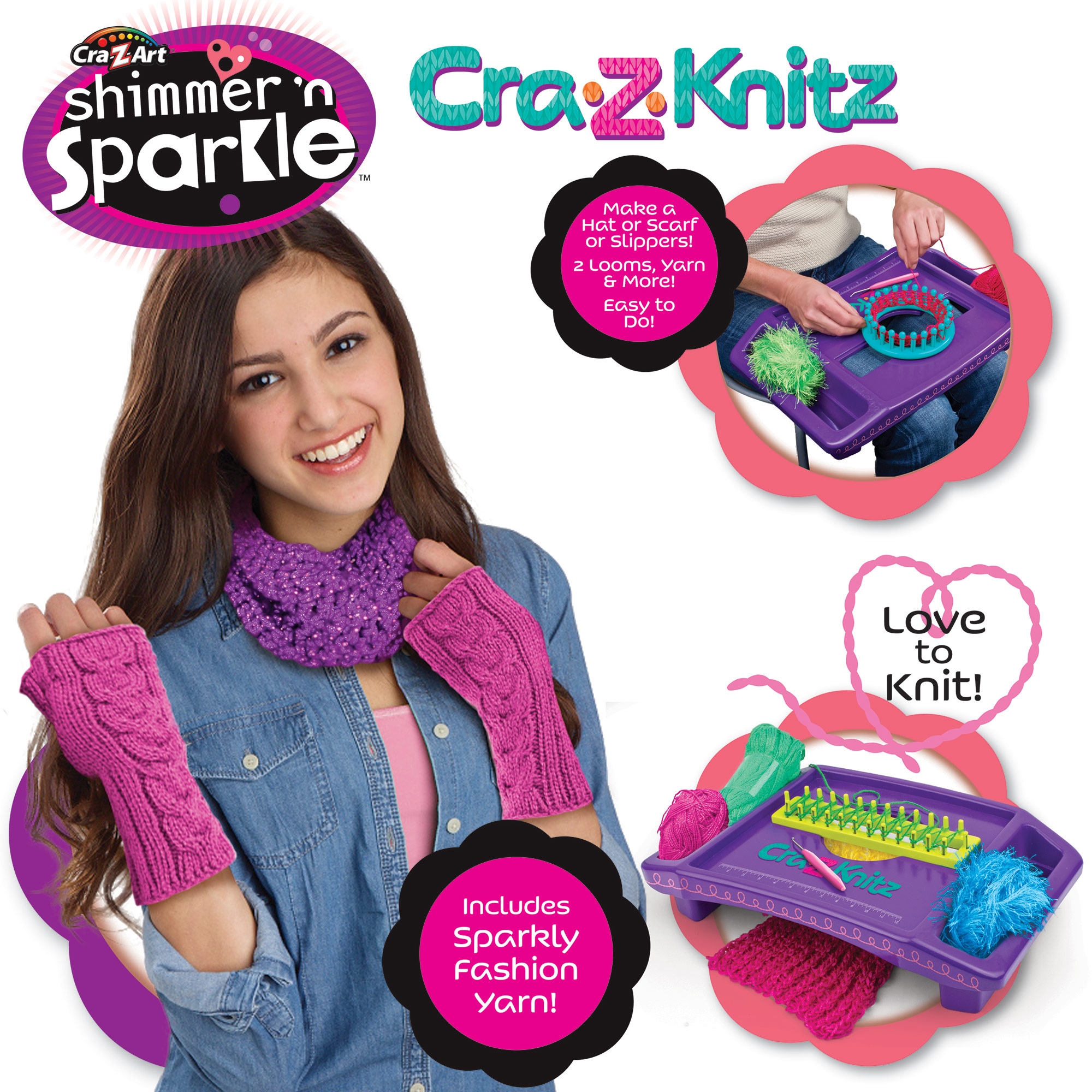 Image of Cra-Z-Knitz Design Set