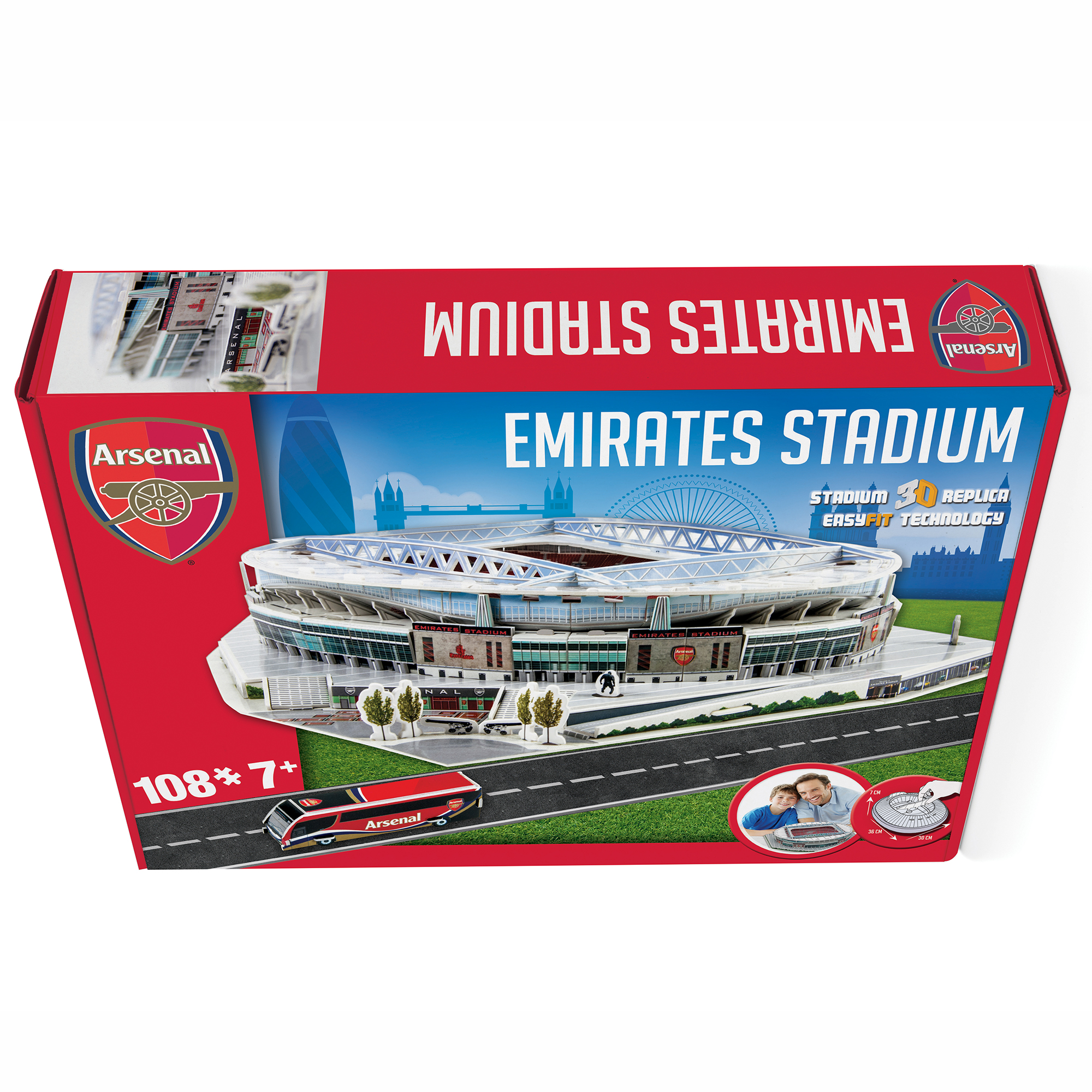 Arsenal Nanostad 3D Stadium