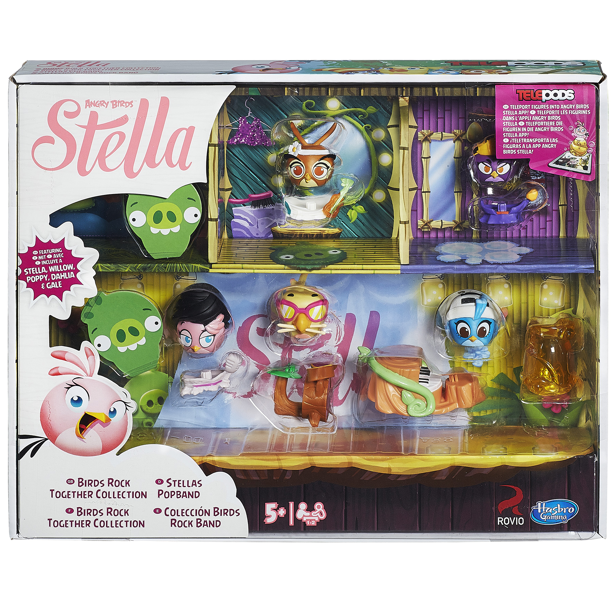 Angry Birds Stella Telepods Secret Garden Party Collection