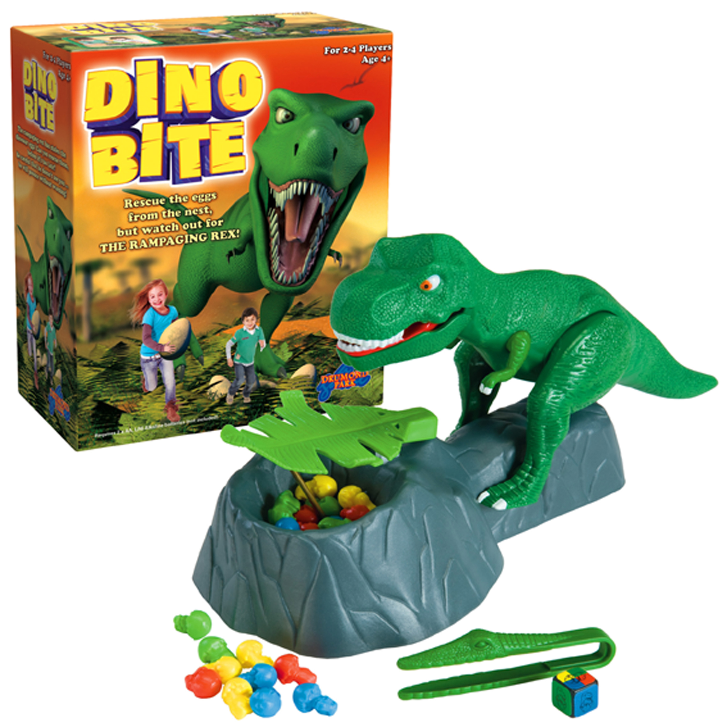 Image of Dino Bite Game