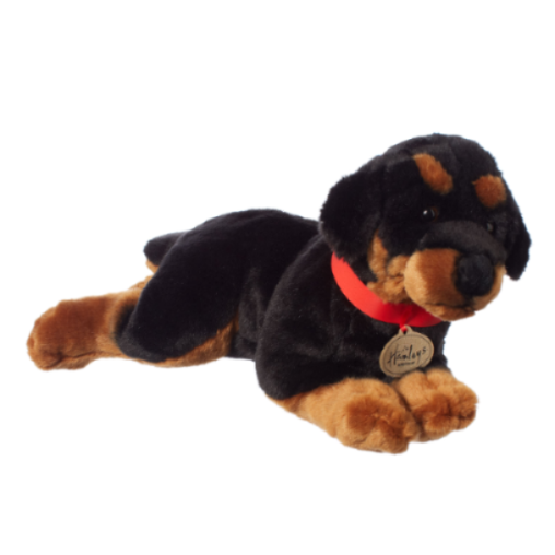 Hamleys Rotweiller Soft Toy
