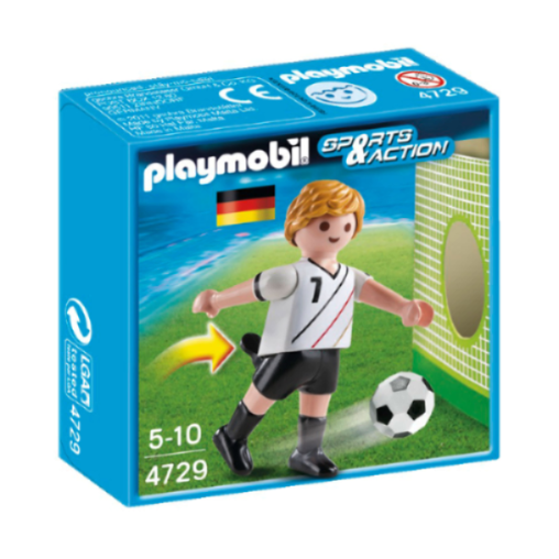 Playmobil Soccer Player - Germany 4729