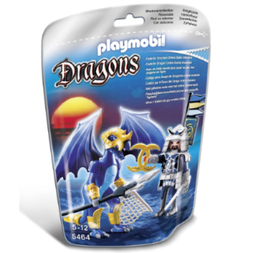 Playmobil Ice Dragon with Warrior 5464