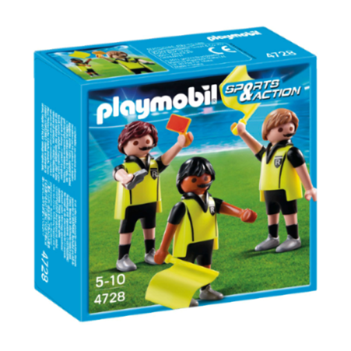 Playmobil Referee and Linesmen 4728