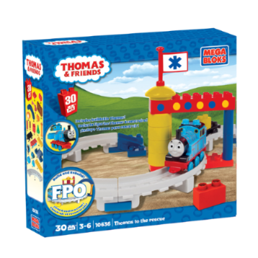Mega Bloks Thomas The Tank Engine To The Rescue
