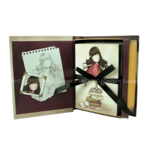 Gorjuss New Heights Book Shaped Gift Box with Notecards