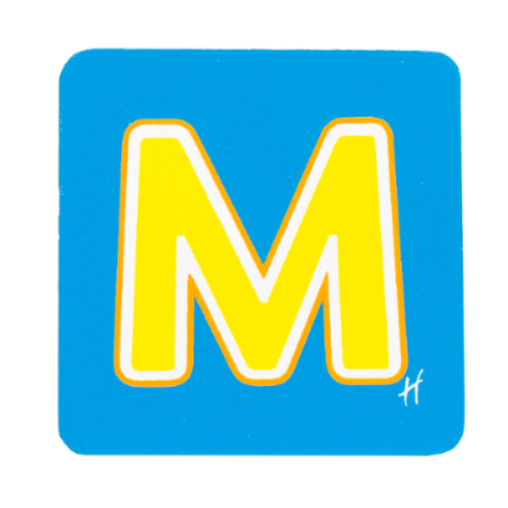 Hamleys Wooden Letter M