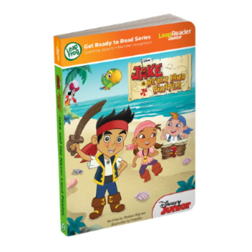 LeapFrog Tag Junior Book Jake & the Neverland Pirates