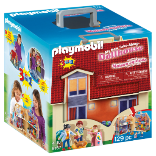 Playmobil Take Along Modern Dolls House 5167