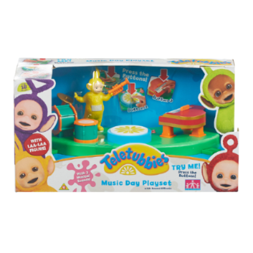 Teletubbies Music Time Playset With Laa-Laa Figure