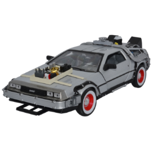Welly Back To The Future III Diecast Model