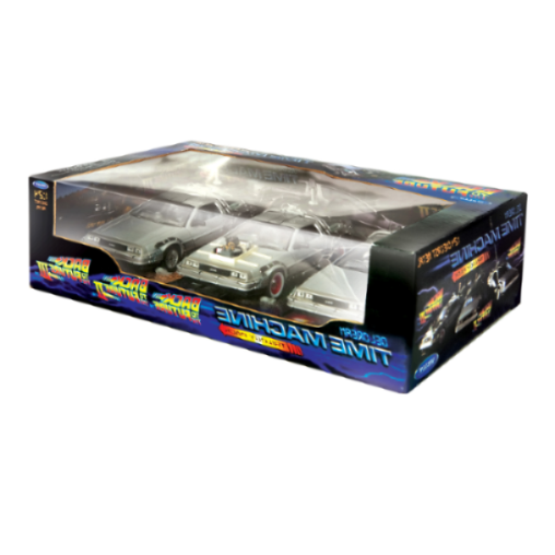 Welly Back To The Future Diecast Model Trilogy Set