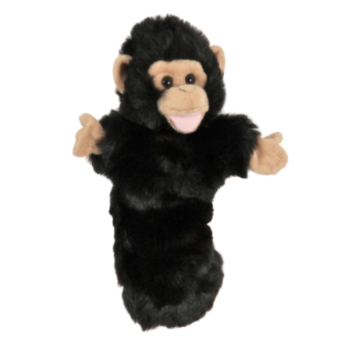 Long-Sleeved Glove Puppet - Chimp