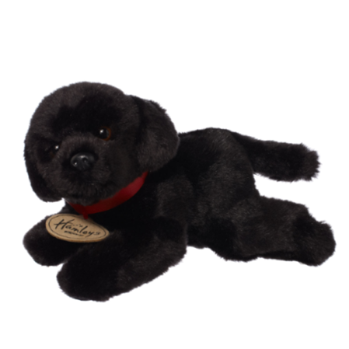 Hamleys Small Black Labrador Soft Toy